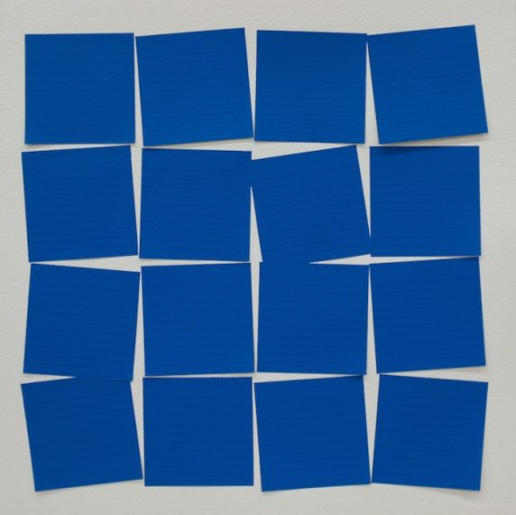 Post-itesquema (Azul), 2015
